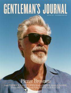 Latest Issue out now with Pierce Brosnan