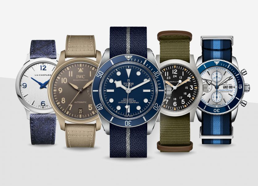 The 5 best fabric strap watches to buckle up this summer