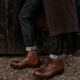 Cheaney's latest collection was created using sustainable antelope leather